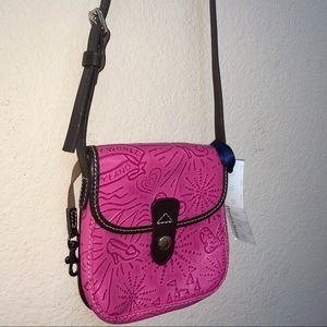 Dooney & Bourke Pink Disney Leather Crossbody